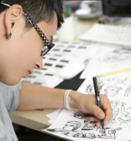 Artist: Cartooning Certificate Program